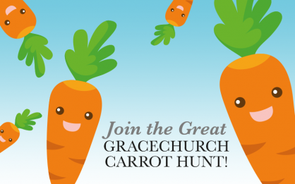 Join the Great Gracechurch Carrot Hunt!