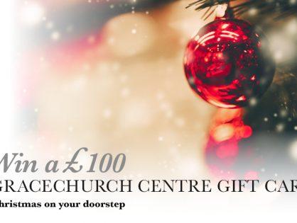 Win a £100 Gracechurch gift card
