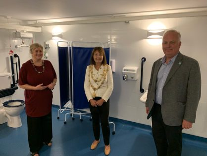 THE GRACECHURCH CENTRE OPENS NEW CHANGING PLACES FACILITY