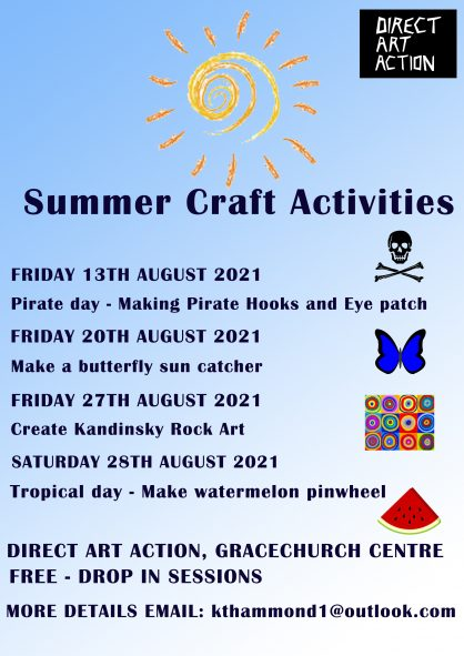 Summer Activities at the Art Gallery